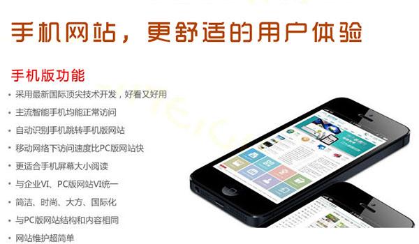 现在的营销型手机网站的用户体验如图所示